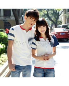 Korean Fashion Couples Short Sleeved T Shirts for 2