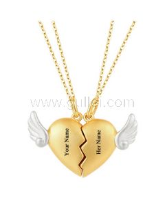 Magnetic Hearts Relationship Necklaces Gift for Boyfriend Girlfriend