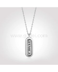 3D Custom Name Necklace Anniversary Gift for Her