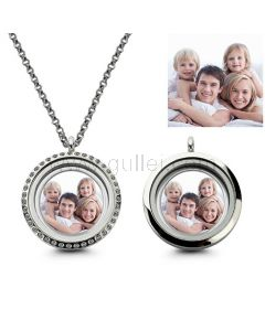 Photo Print Necklace Birthday Gift for Women