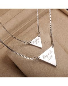 Custom Name Necklace Christmas Gift for Couple
