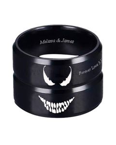 Matching Devil Rings Couple Christmas Gifts