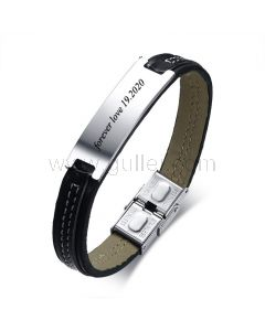 Personalized Promise Bracelet Gift for Guys