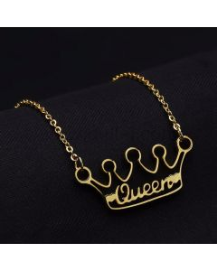 Crown Custom Name Necklace Gift for Wife