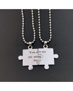 You are My Missing Piece Promise Pendants