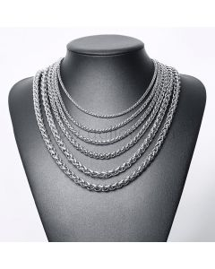 Mens Chain Necklace Stainless Steel Birthday Gift