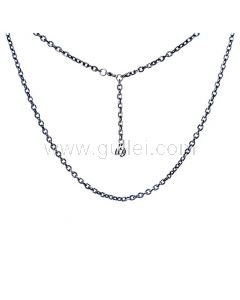 Mens Trace Chain Necklace Gift for Him