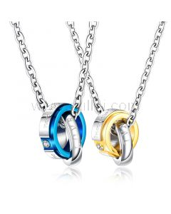 Rings Necklaces Promise Gift for Him and Her