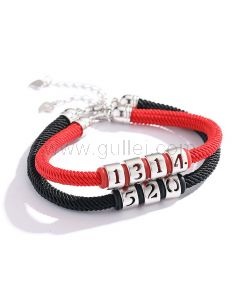 Matching Charms Promise Bracelets Chinese Love Symbols