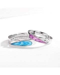 Matching Best Friendship Rings Set for 2
