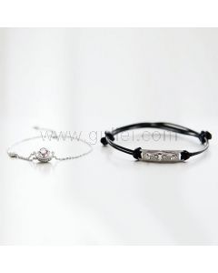 Matching His and Hers Bracelets Set for 2