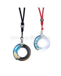 Matching Couple Relationship Necklaces Set for 2