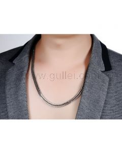 Mens Chain Necklace Jewelry Gift for Boyfriend