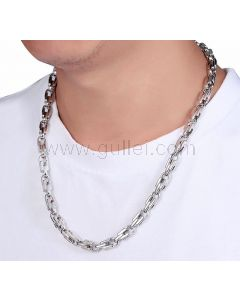 Sterling Silver Mens Chain for Pendant
