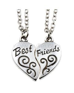 Customized BFF Necklaces Set for 2