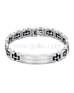 Personalized Promise Bracelet for Him