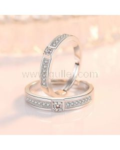 Custom Matching Wedding Bands for Him and Her