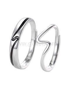Personalized Matching Wedding Bands for Two