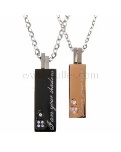 Customized Matching Couples Necklaces Jewelry Gift