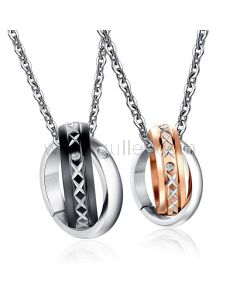 Personalized Matching Mother Daughter Pendants Jewelry Set for 2