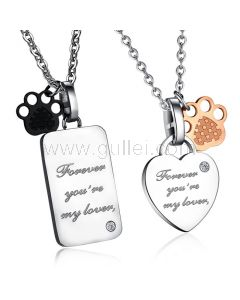 Personalized Pendants Jewelry Christmas Gift for Him and Her