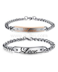 Matching Promise Bracelets Gift for Couples