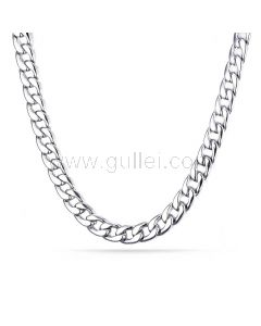 Mens Chain Necklace for Pendant Stainess Steel 62cm