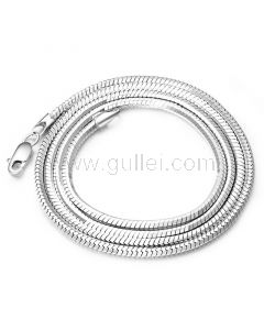 Chain Necklace for Men Gold Plated Sterling Silver