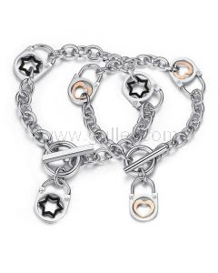 Celebrity Style Matching Unisex Chain Bracelets for Soulmates