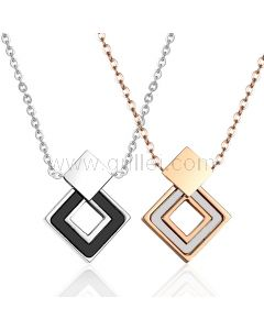Matching His and Hers Lovers Necklaces Set