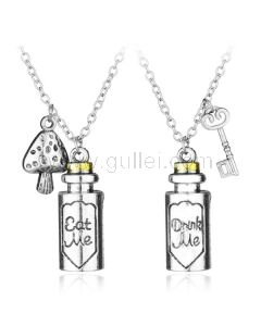 Vintage Style Boy and Girl Matching Couples Jewelry Gift