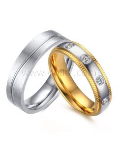 Unique Engraved Couple Rings for Couples
