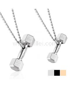 Couple Necklaces Gift for Gym Enthusiast