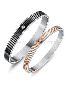 Couples Bracelets Jewelry Set for Him and Her with Engraving