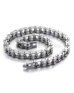 Bike Chain Necklace Jewelry Gift for Men