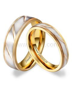 Promise Rings Anniversary Gift for Couples