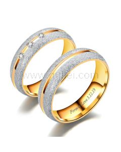 Matching His and Hers Anniversary Rings Gift Set