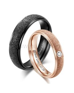 Matching Rings Birthday Gift for Him and Her