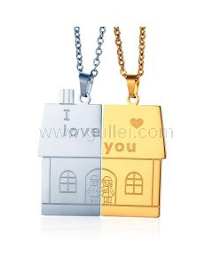 Cute Custom Matching Necklaces Set for Teenagers