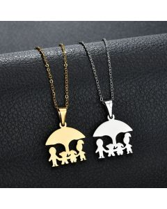 Custom Engraved Daughter Mom Necklaces Gift