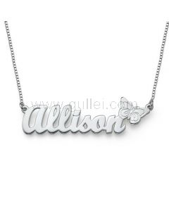 Classic Name Necklace Gold Plating