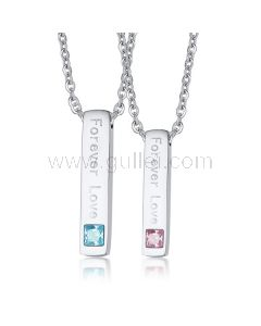 Customized Couple Relationship Necklaces Gift for Him and Her