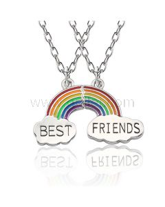Bff Best Friends Necklaces Christmas Gift