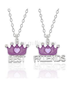 Bff Best Friends Matching Necklaces Birthday Gift