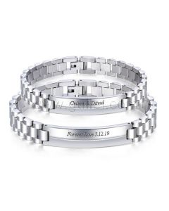 Couple Bracelets Anniversary Gift for Him and Her