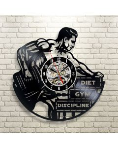 Exercise Gym Lovers Decorative Vinyl Wall Clock