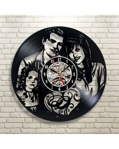 Personalized Family Photo Themed Vinyl Wall Clock Gift