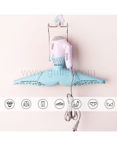 Folding Wall Mounted Clothes Drying Portable Travel Rack