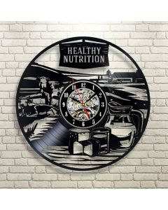 Best Christmas Gift for Nutritionist Vinyl Wall Clock