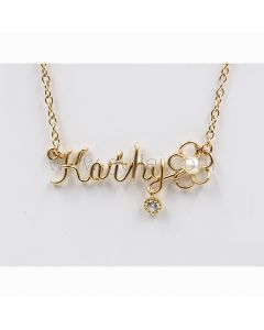 Handwriting Name Necklace Gift for Her